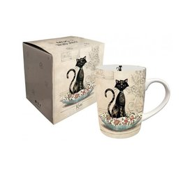 Tasse - chat assis coussins Amy's