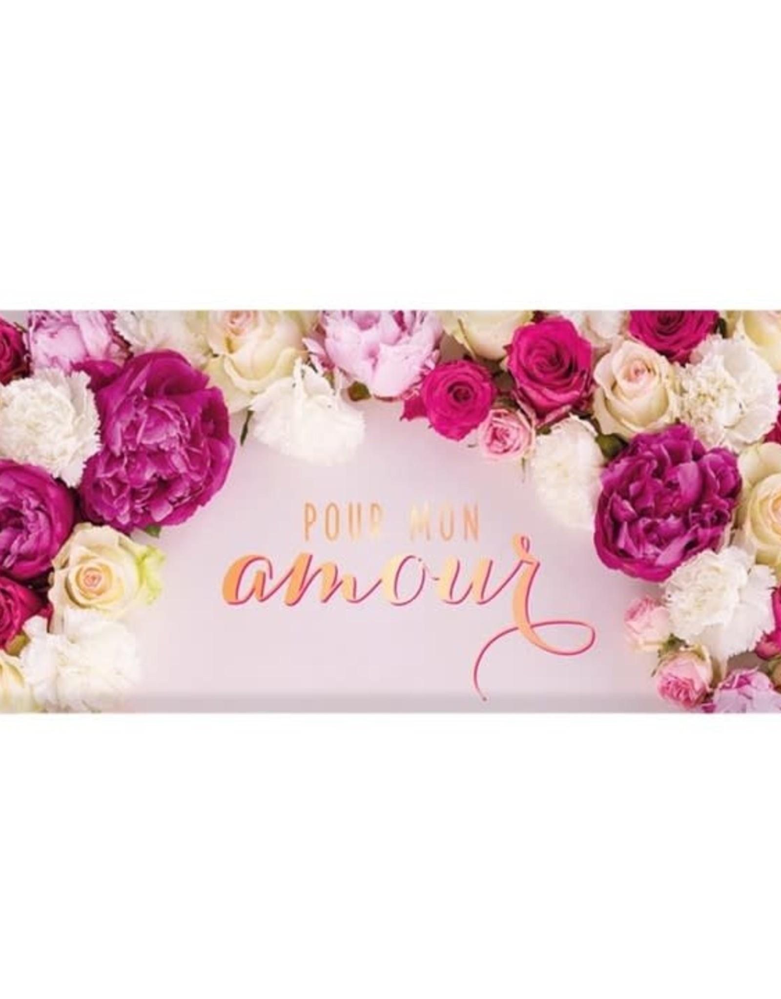 Barre de chocolat - Mon amour