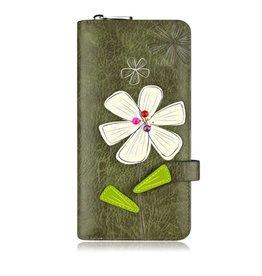 ESPE Portefeuille clutch Bloom Kaki