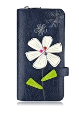 ESPE Portefeuille clutch Bloom marine