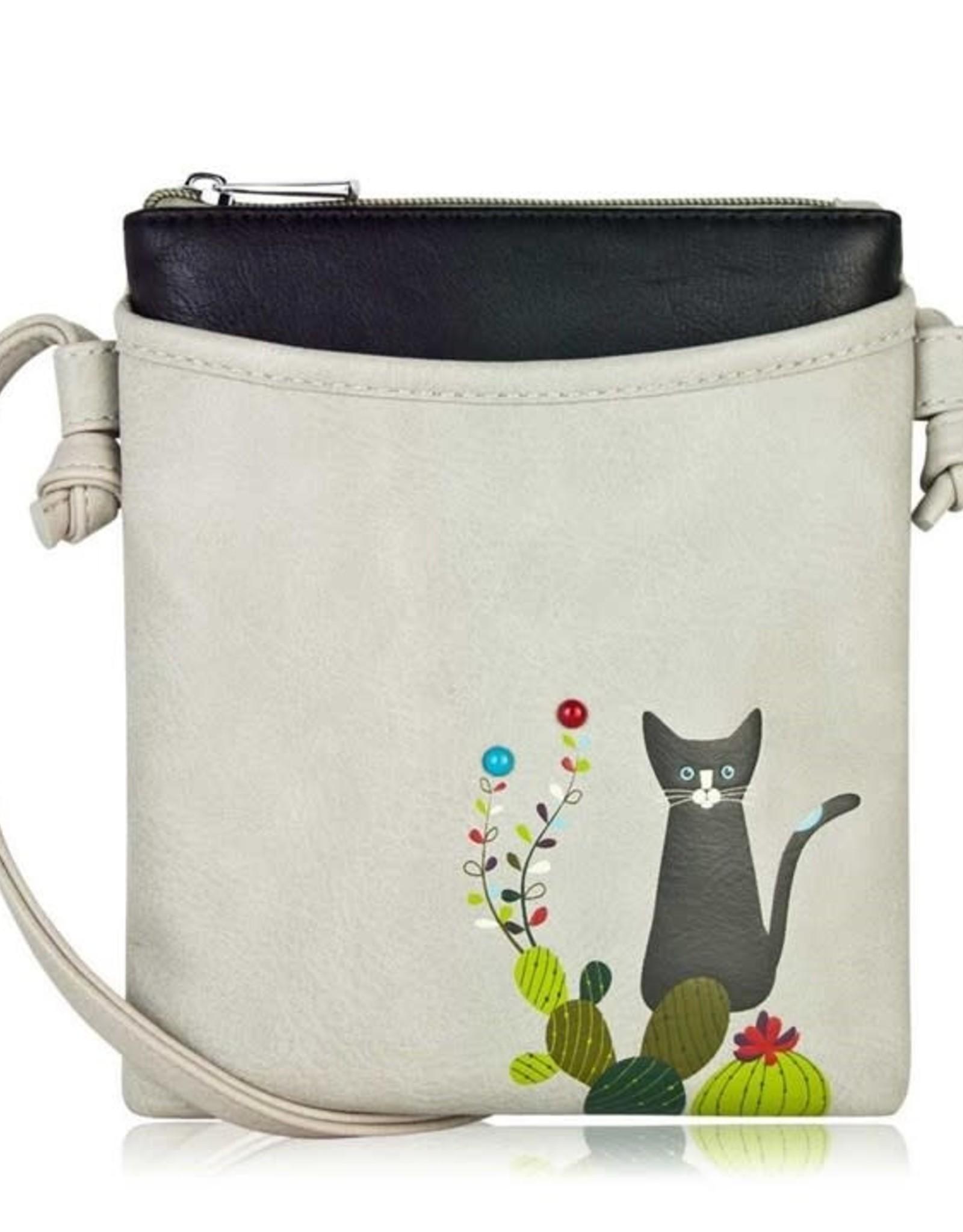 ESPE Petit sac chat cactus - Gris