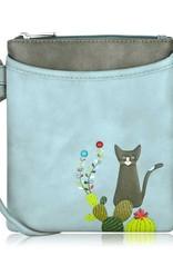 ESPE Petit sac chat cactus - Bleu