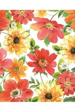 Serv. Table Joséphine - Fleurs multi
