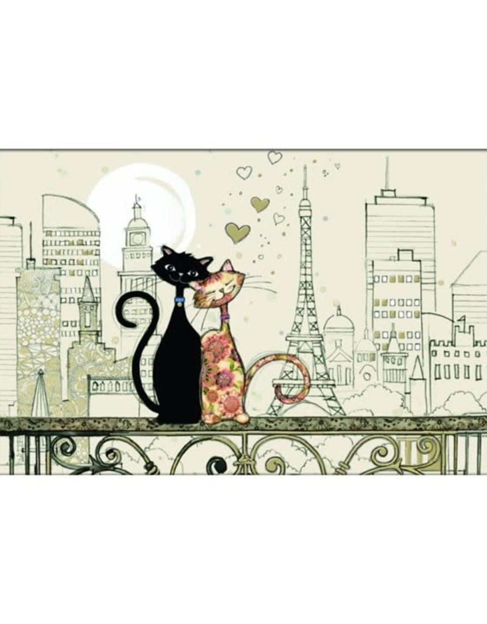 Napperon chat Paris