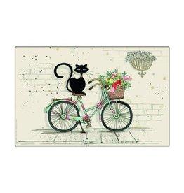 Napperon chat Vélo