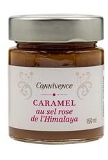 Caramel au sel Rose de l'Himalaya