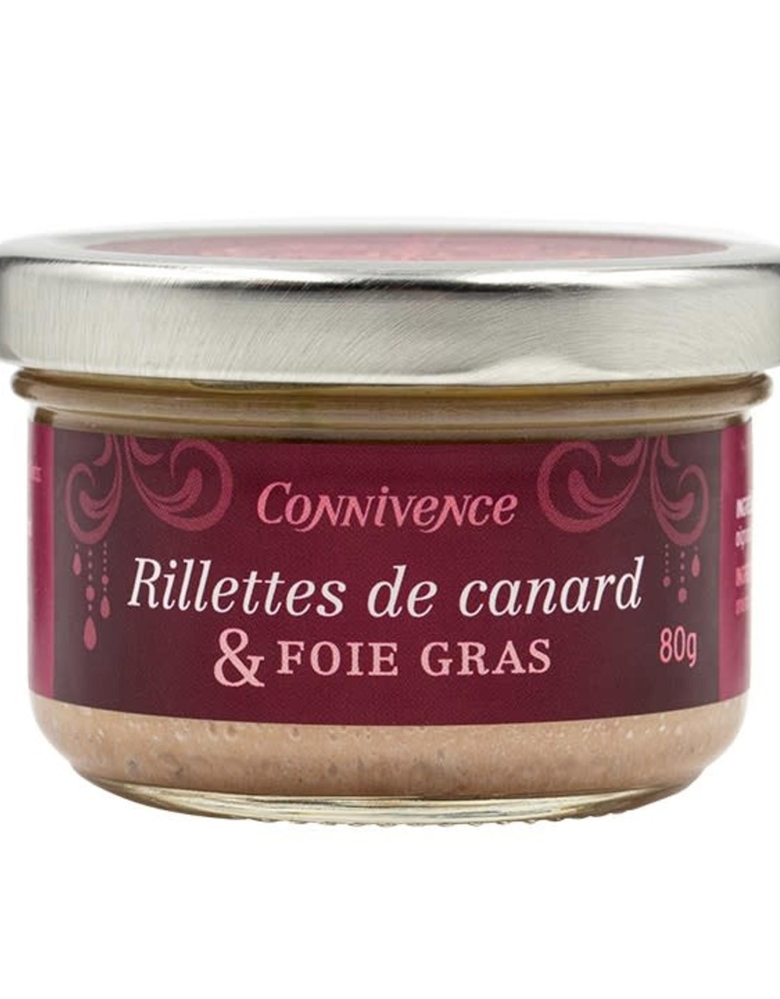 Rillettes de canard & Foie gras