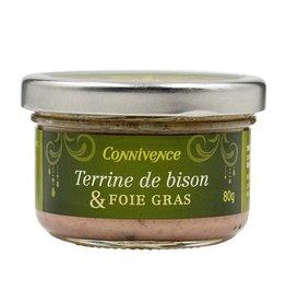 Terrine de bison & Foie gras