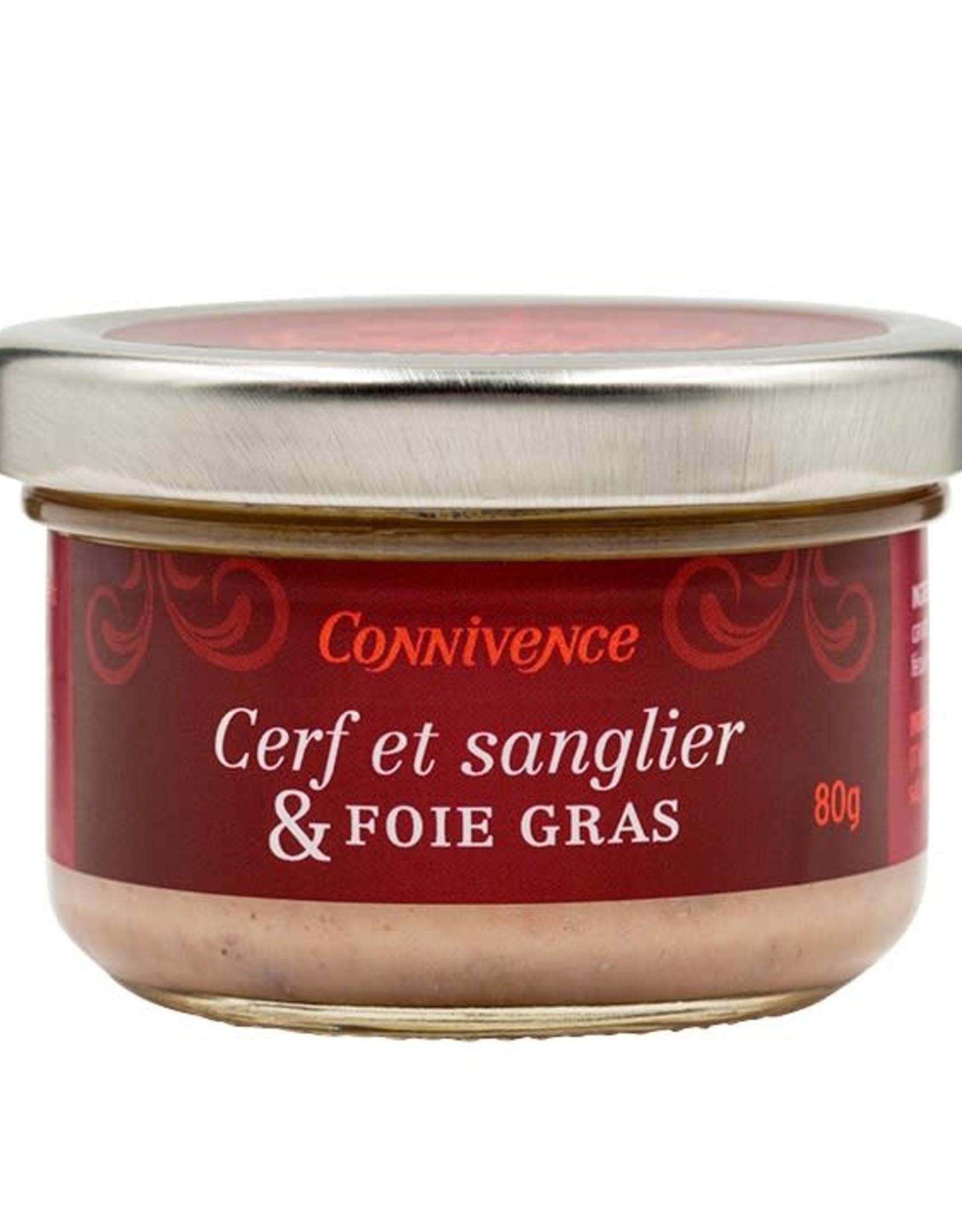 Terrine de cerf et sanglier & Foie gras