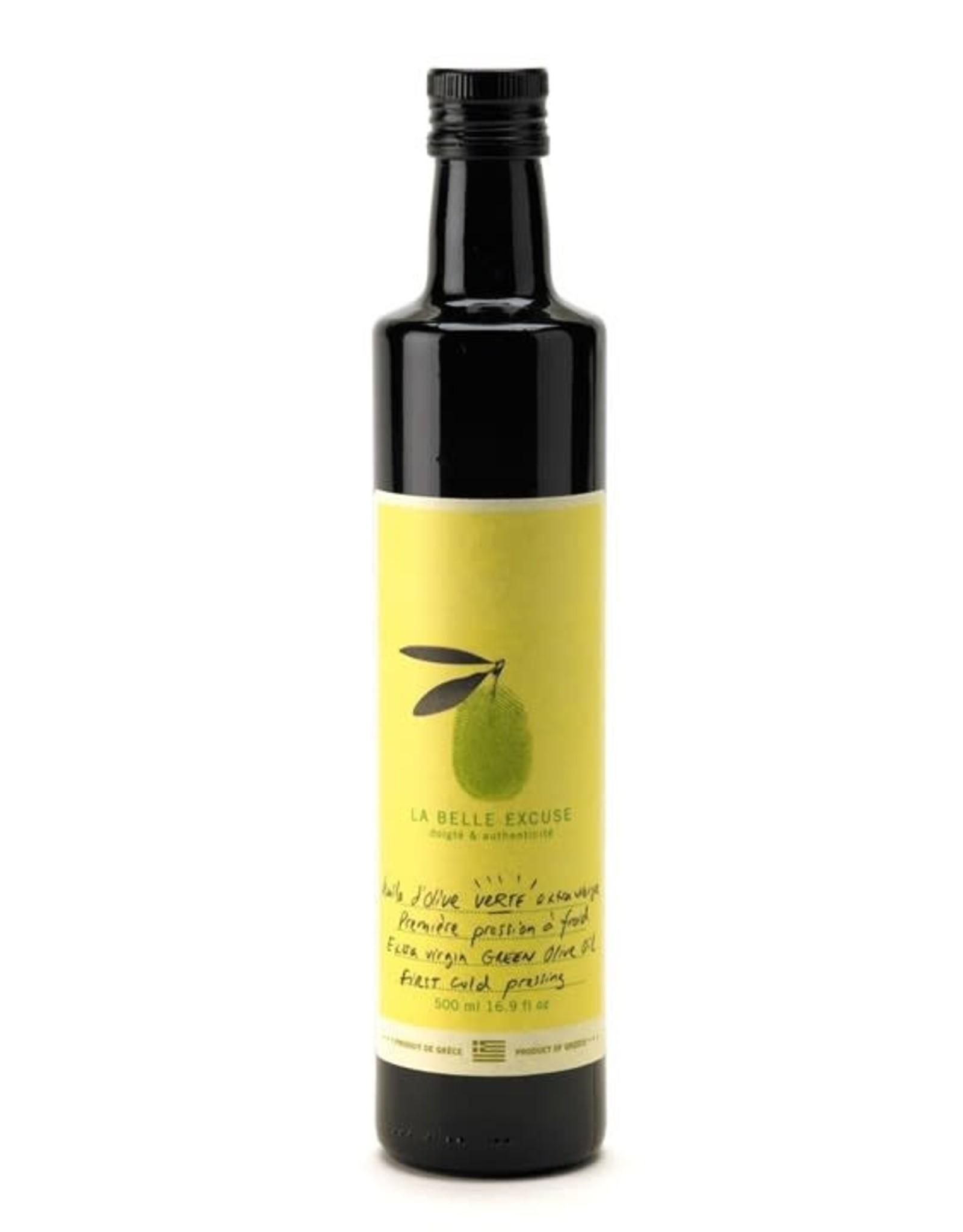 La Belle Excuse Huile d'olive  verte  500 ml