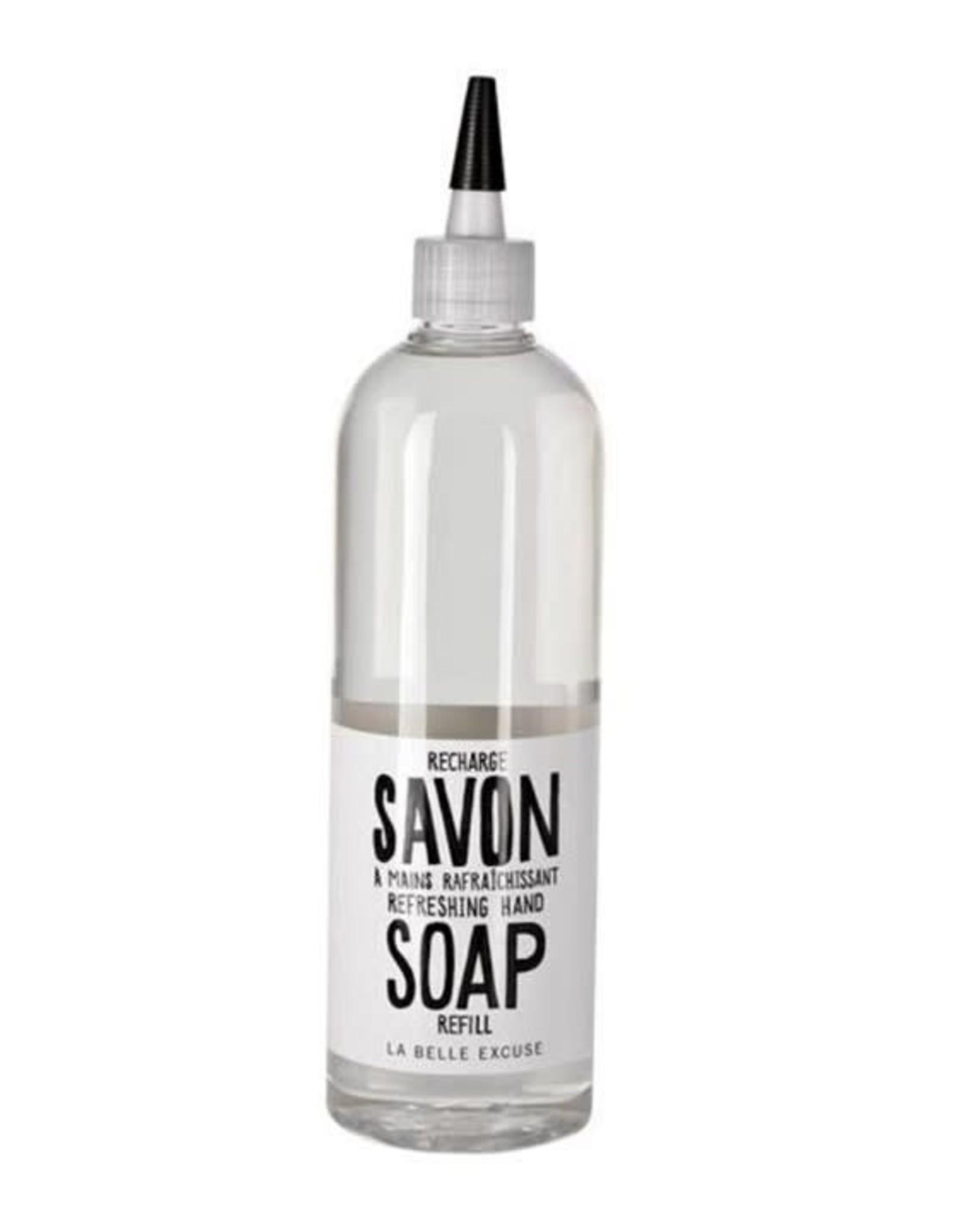 La Belle Excuse Recharge savon à main