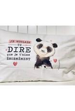 Fabrique Champêtre Taie d'oreiller Panda