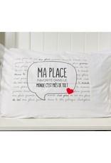 Fabrique Champêtre Taie d'oreiller - Ma place favorite
