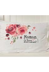 Fabrique Champêtre Taie d'oreiller - Maman je t'aime