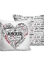 Chantal Lacroix Coussin -Amour