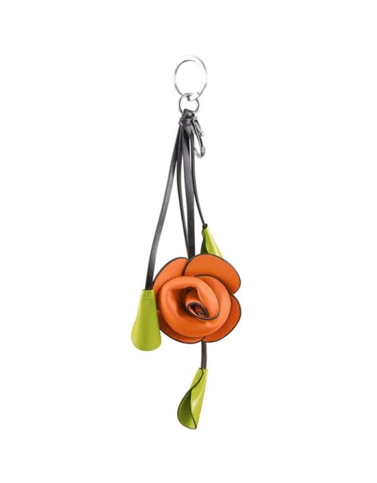 ESPE Porte-clé fleur Orange