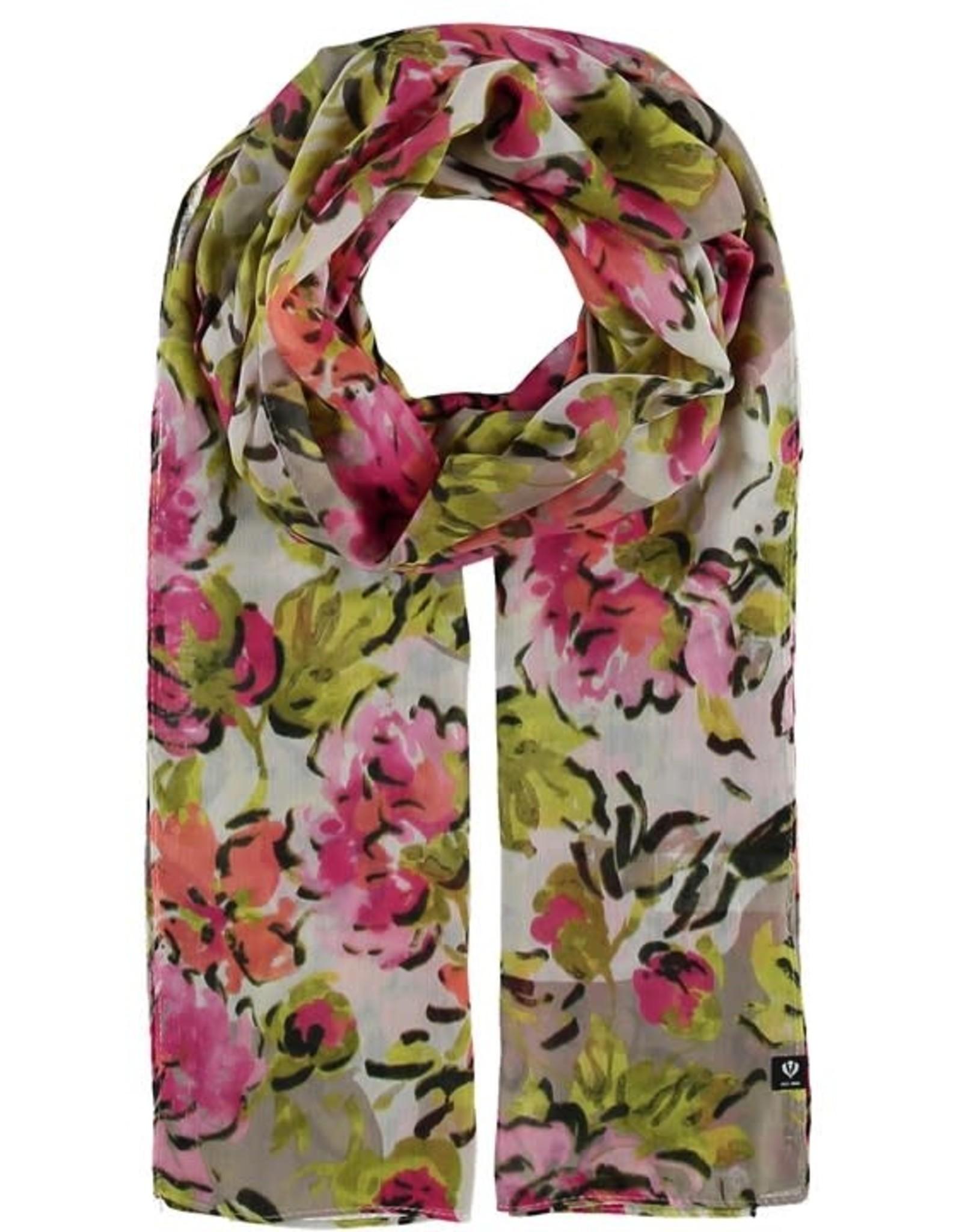 Fraas Foulard bouquet floral - Rose