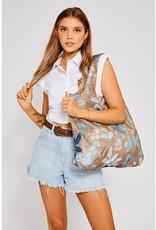 Envirosax sac magasinage - feuillage bleu - brun