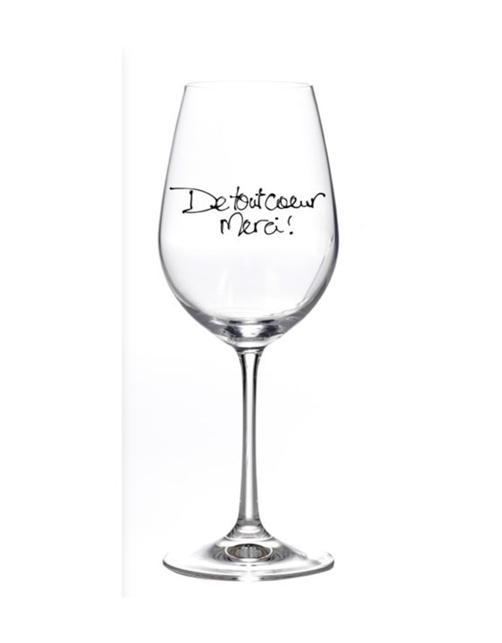 Bizzart & cie Verre à vin  robe Blanche   - Merci