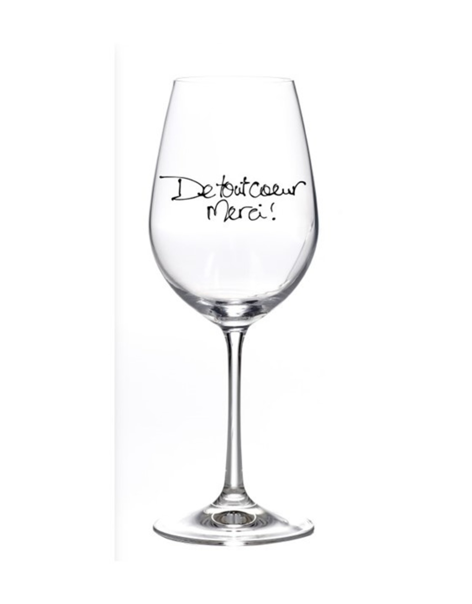 Bizzart & cie Verre à vin  robe Rouge   - Merci
