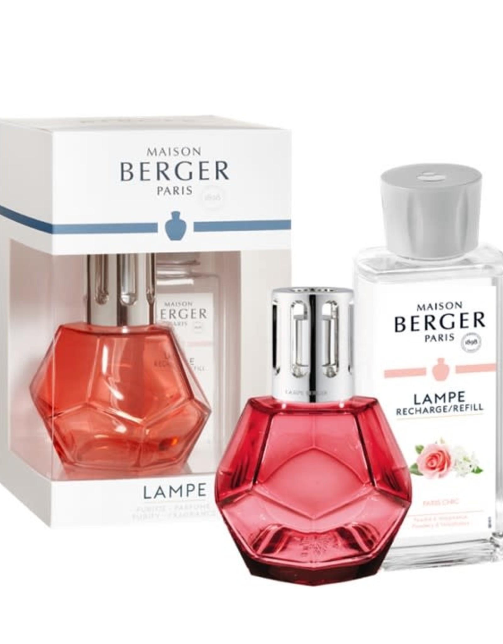 Maison Berger Coffret lampe Géometrie - Rose