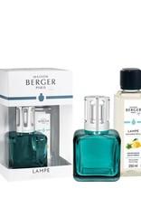 Maison Berger coffret lampe ice cube vert