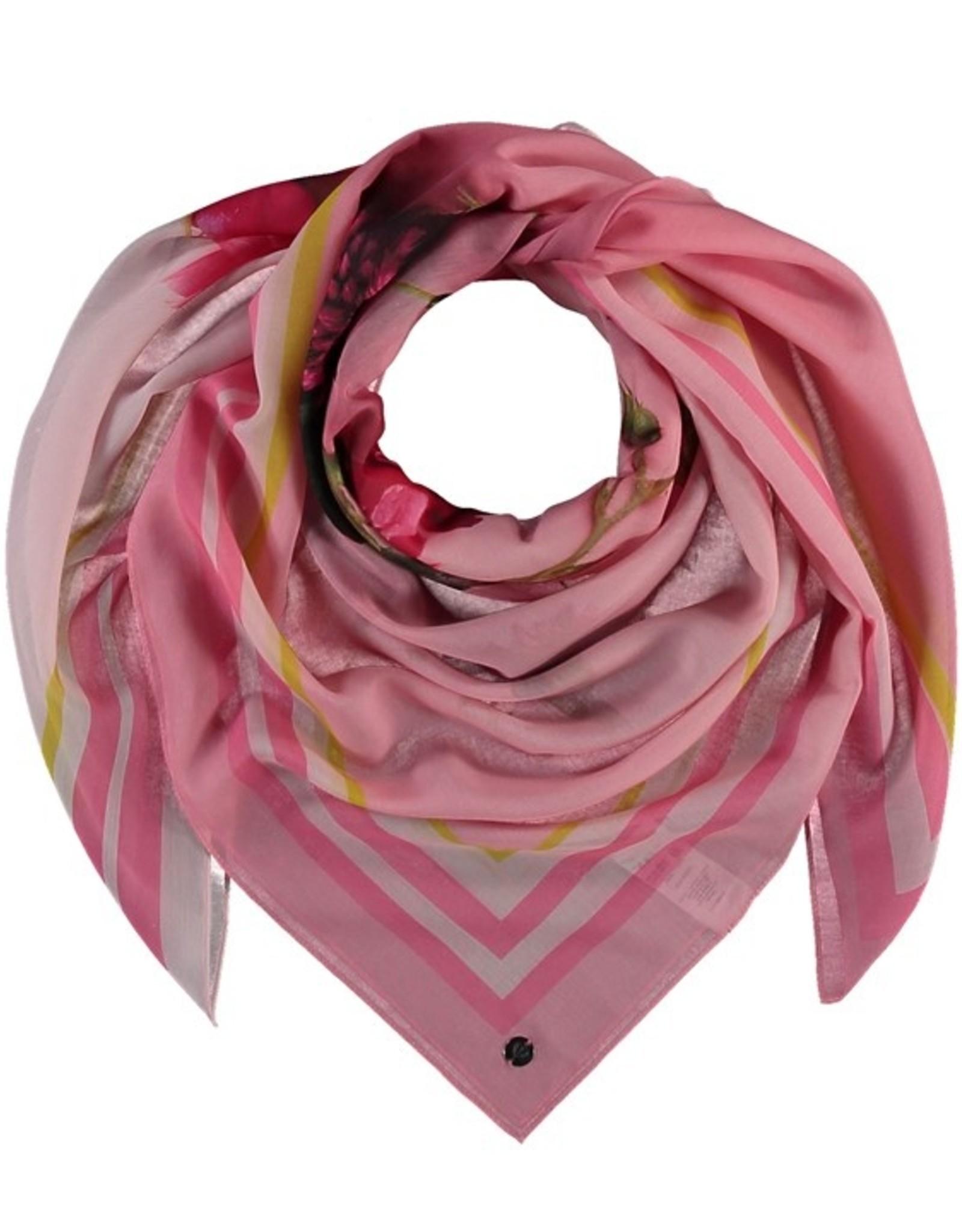 Fraas Foulard coeur - Rose