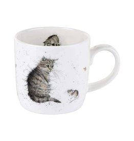 wrendale Tasse - chat & souris