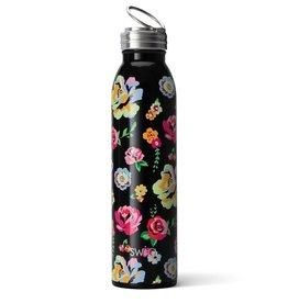 Swig Bouteille - Noir fleuri