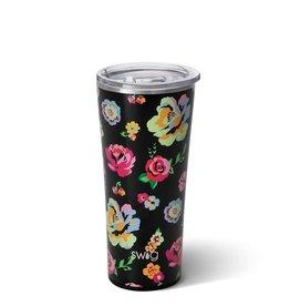Swig Gobelet à café - Noir fleuri