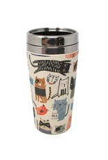 Tasse thermos  chats multi