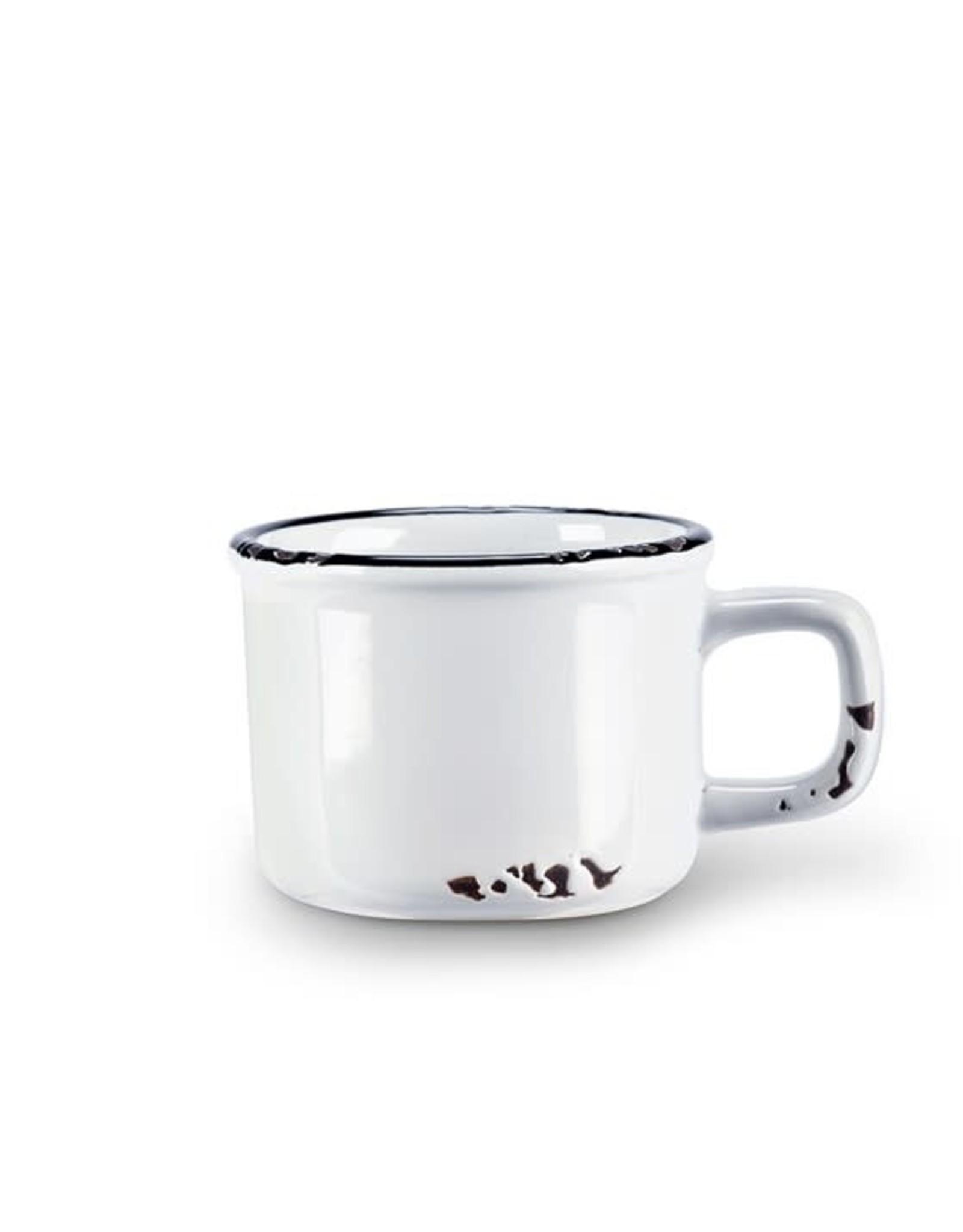 Tasse espresso blanche