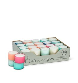 Tealight - pastel