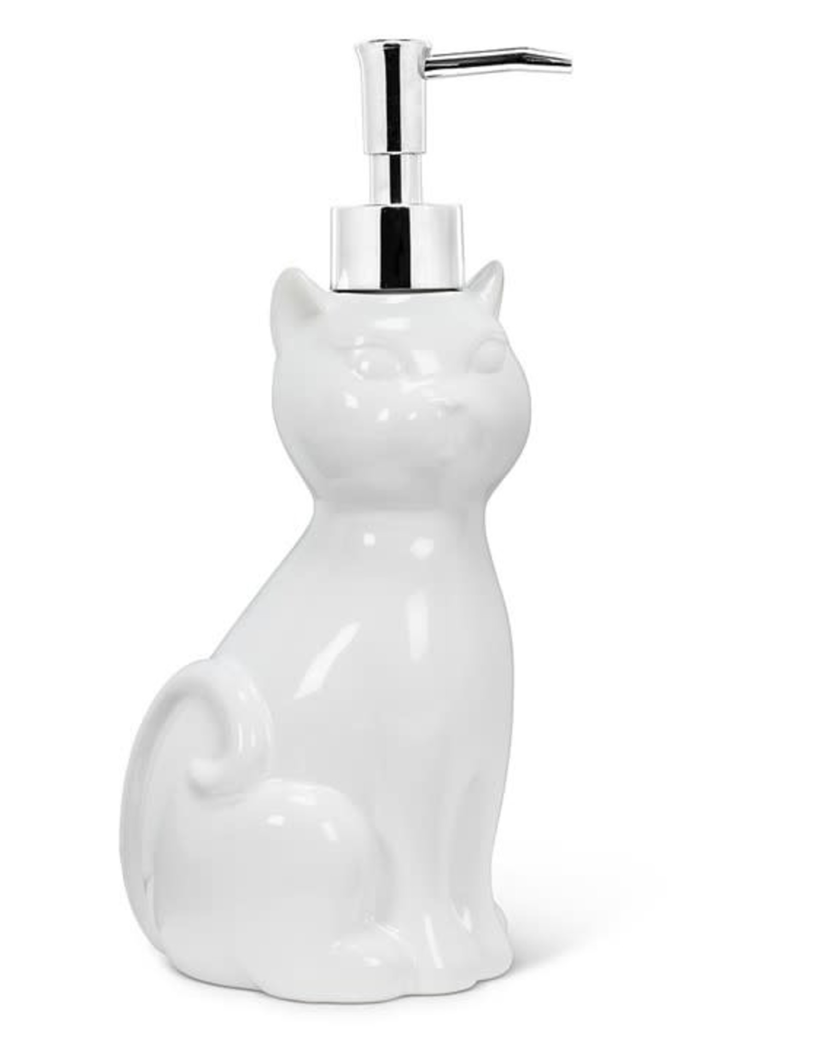 Pompe à savon chat
