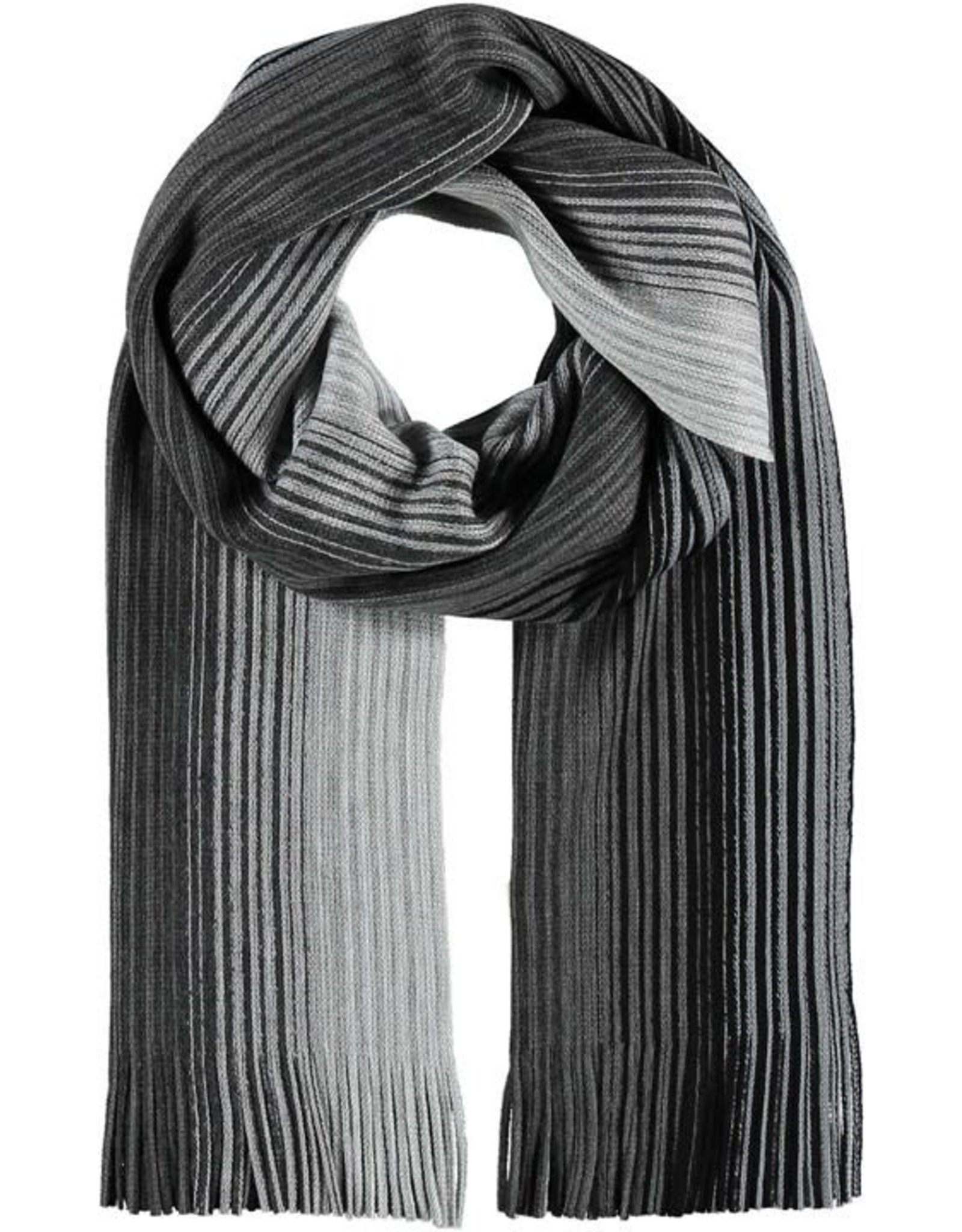 Fraas Foulard ombre - noir  Homme