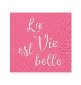 Serviette de Table - La vie est Belle