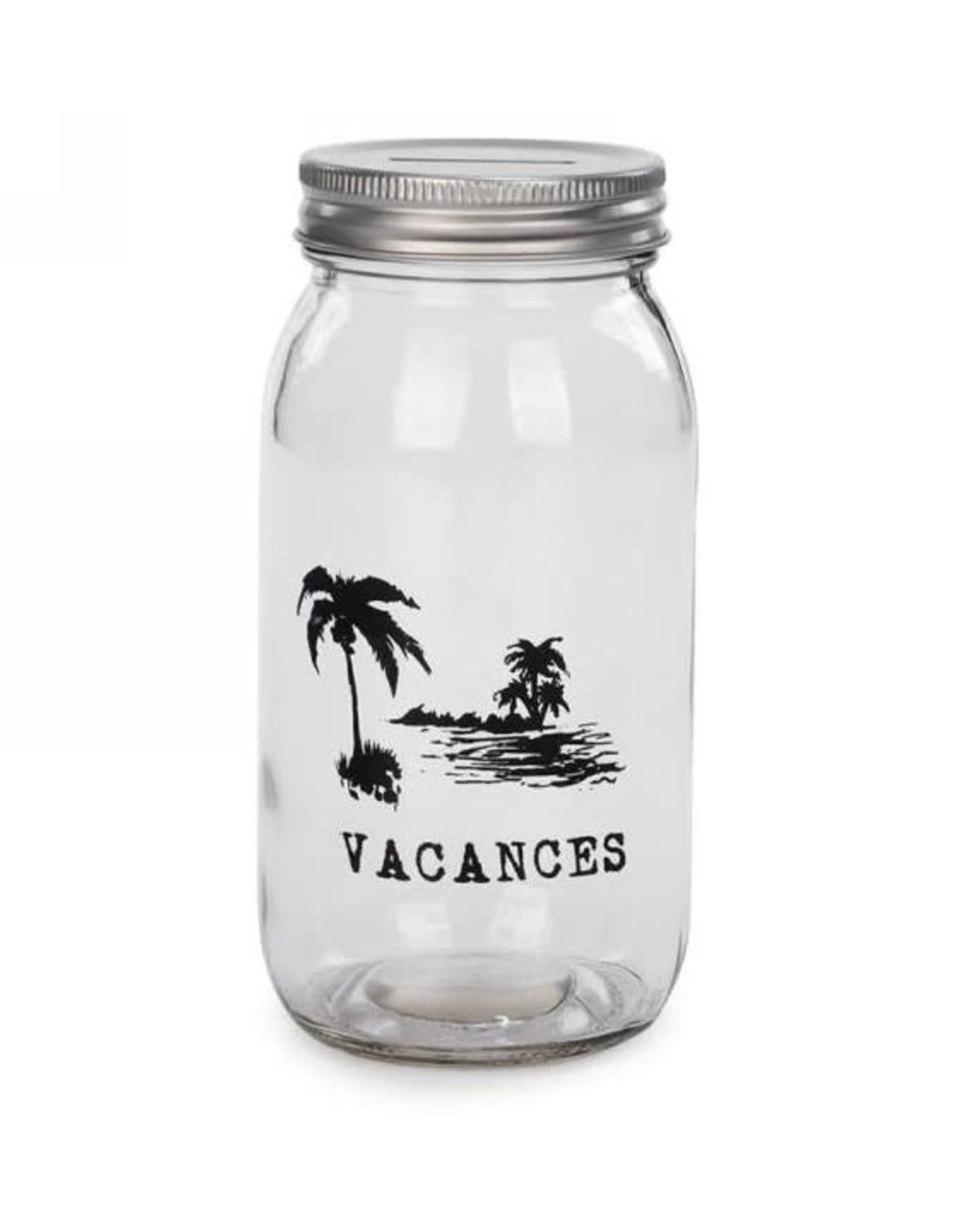 Bocal Tirelire - Vacances