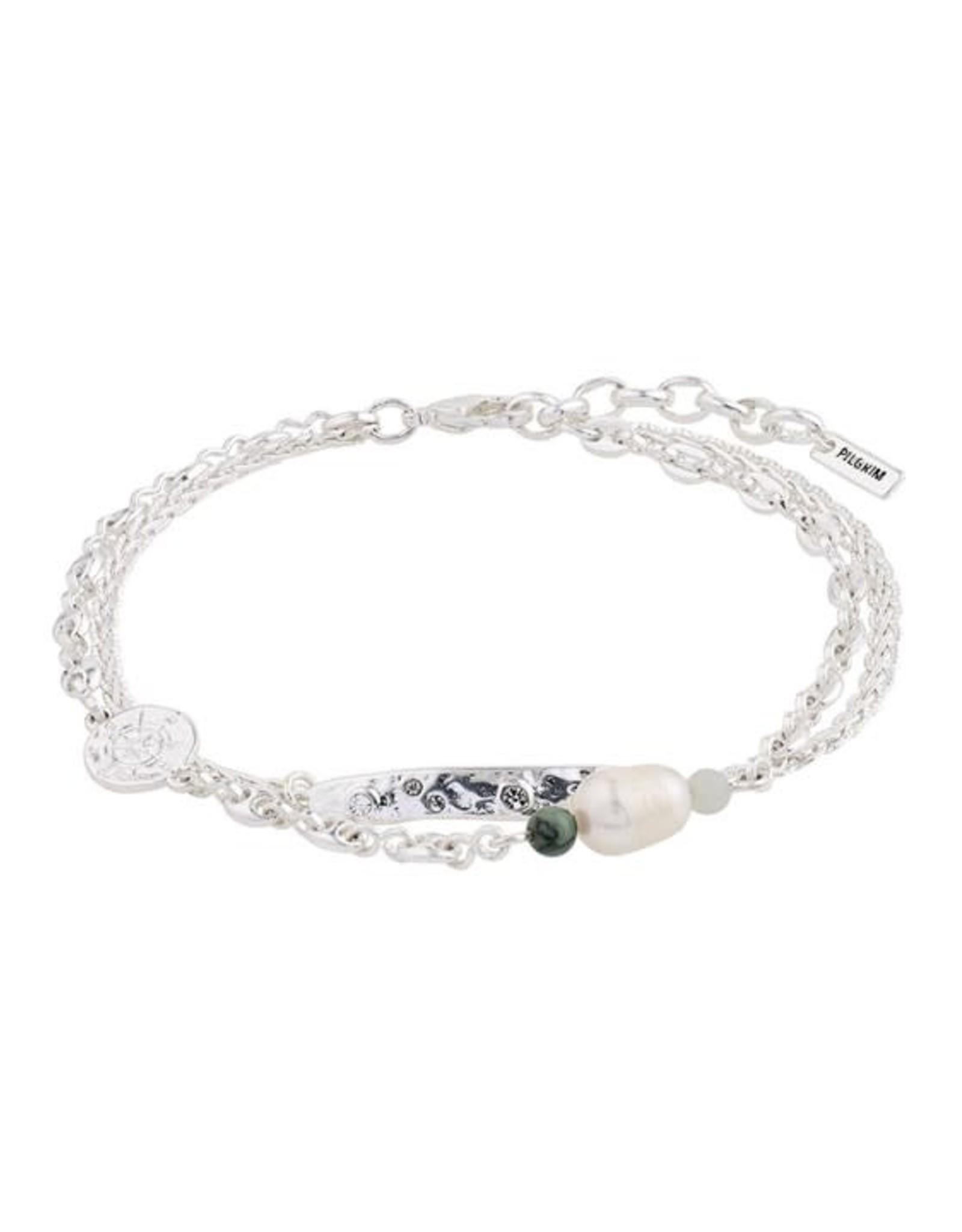 Pilgrim Bracelet Poesy - Argent