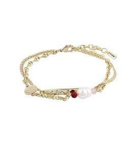 Pilgrim Bracelet poesy - Or