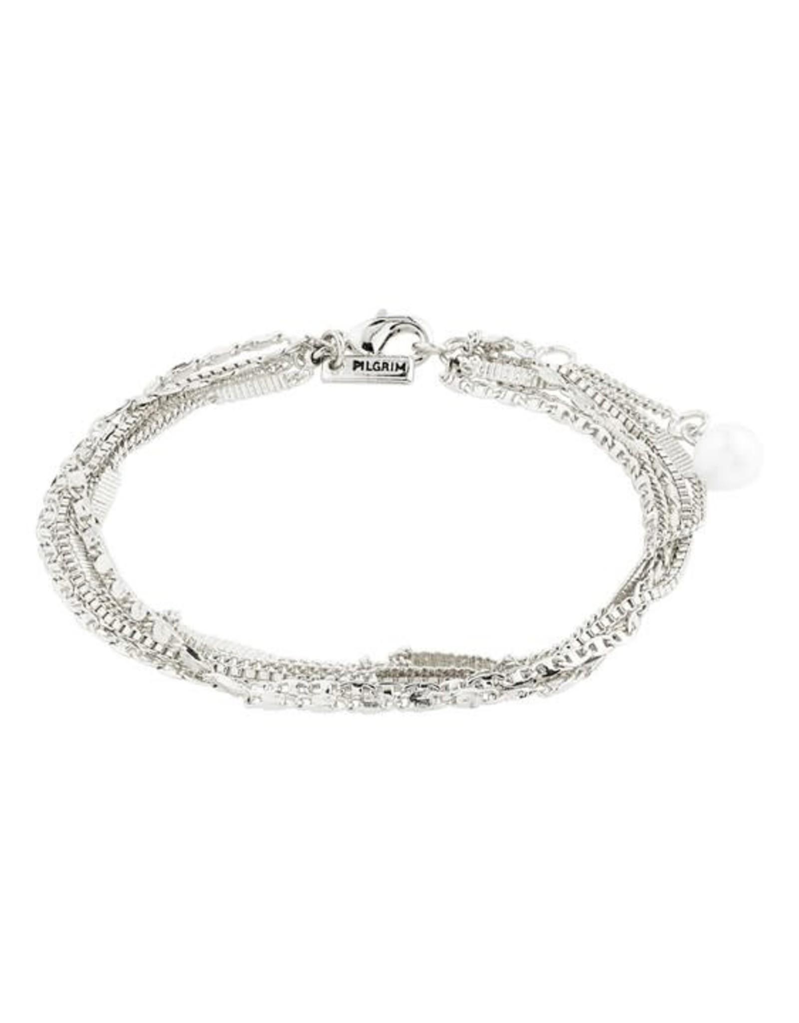 Pilgrim Bracelet Katherine - Argent