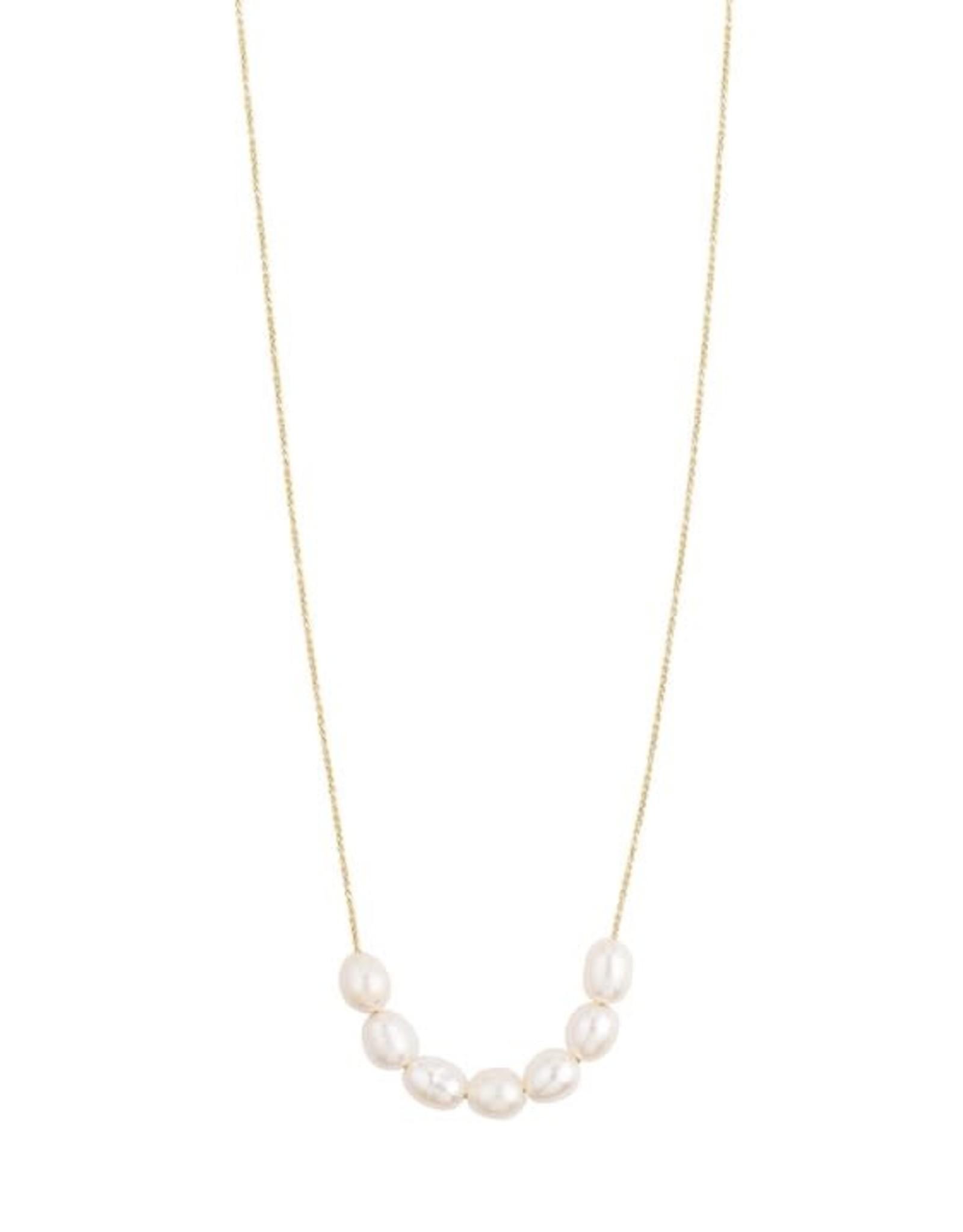 Pilgrim Collier perle Chloé - Or