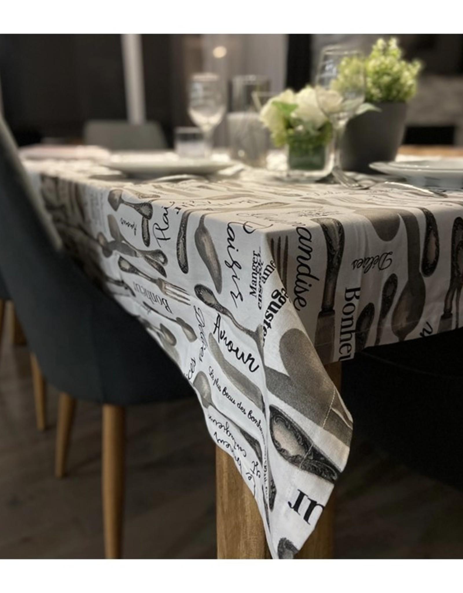 """Chantal Lacroix Nappe - Plaisirs de la table  60 x 84"""""""