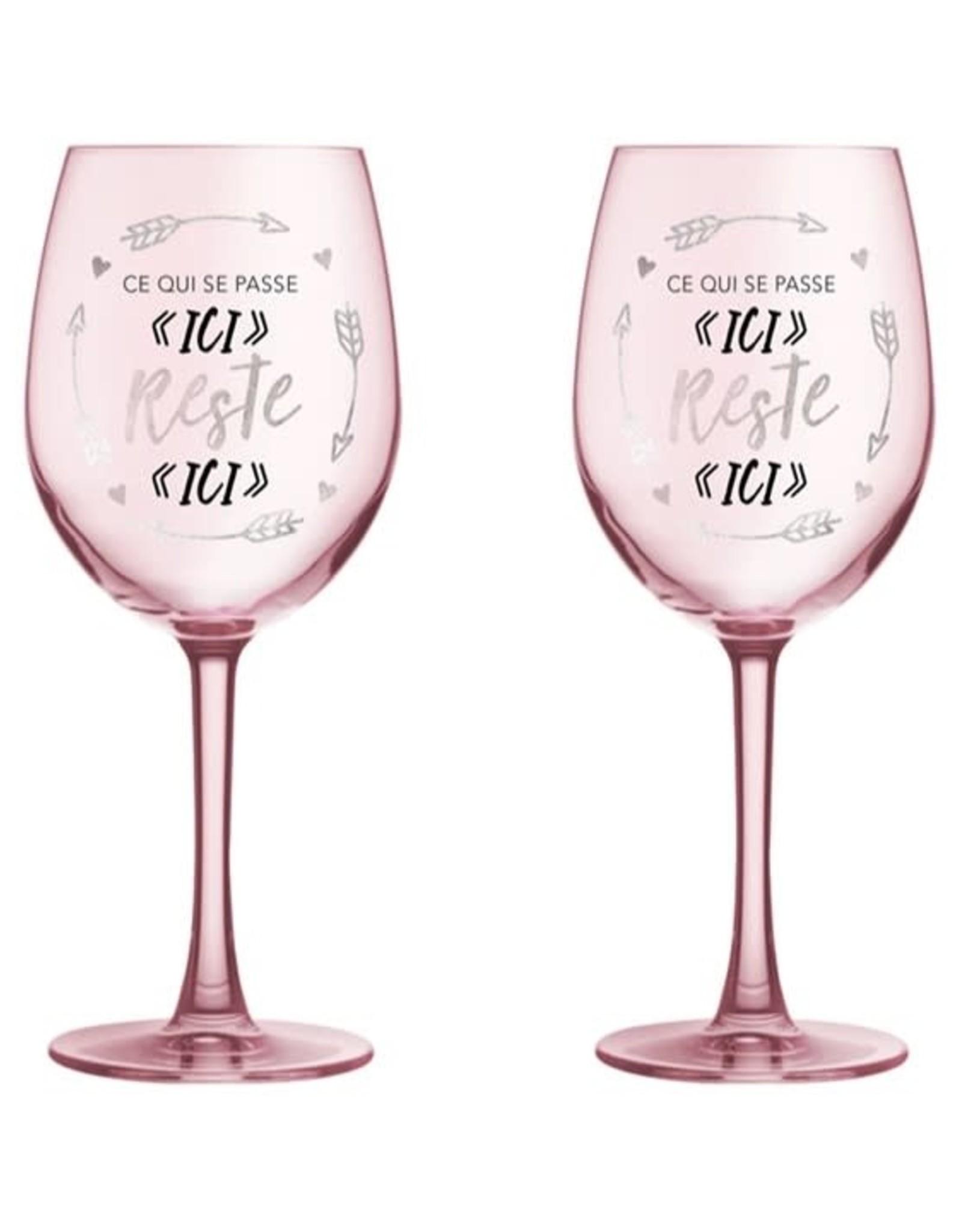 Chantal Lacroix Duo verre à vin - Amitié