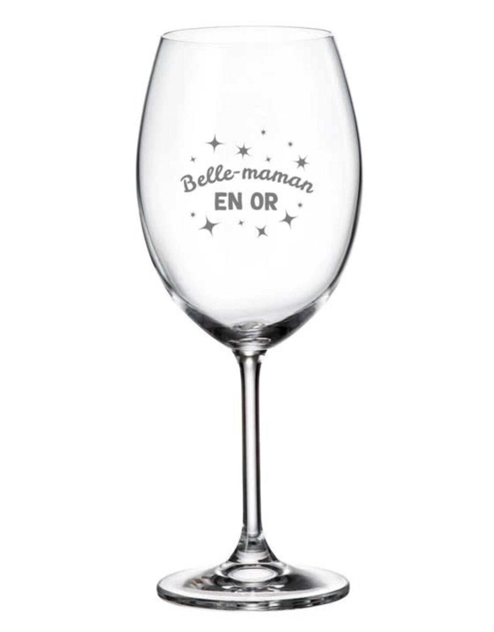 La maison du bar Verre à vin - Belle Maman