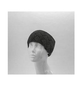 Bandeau tricot  - noir
