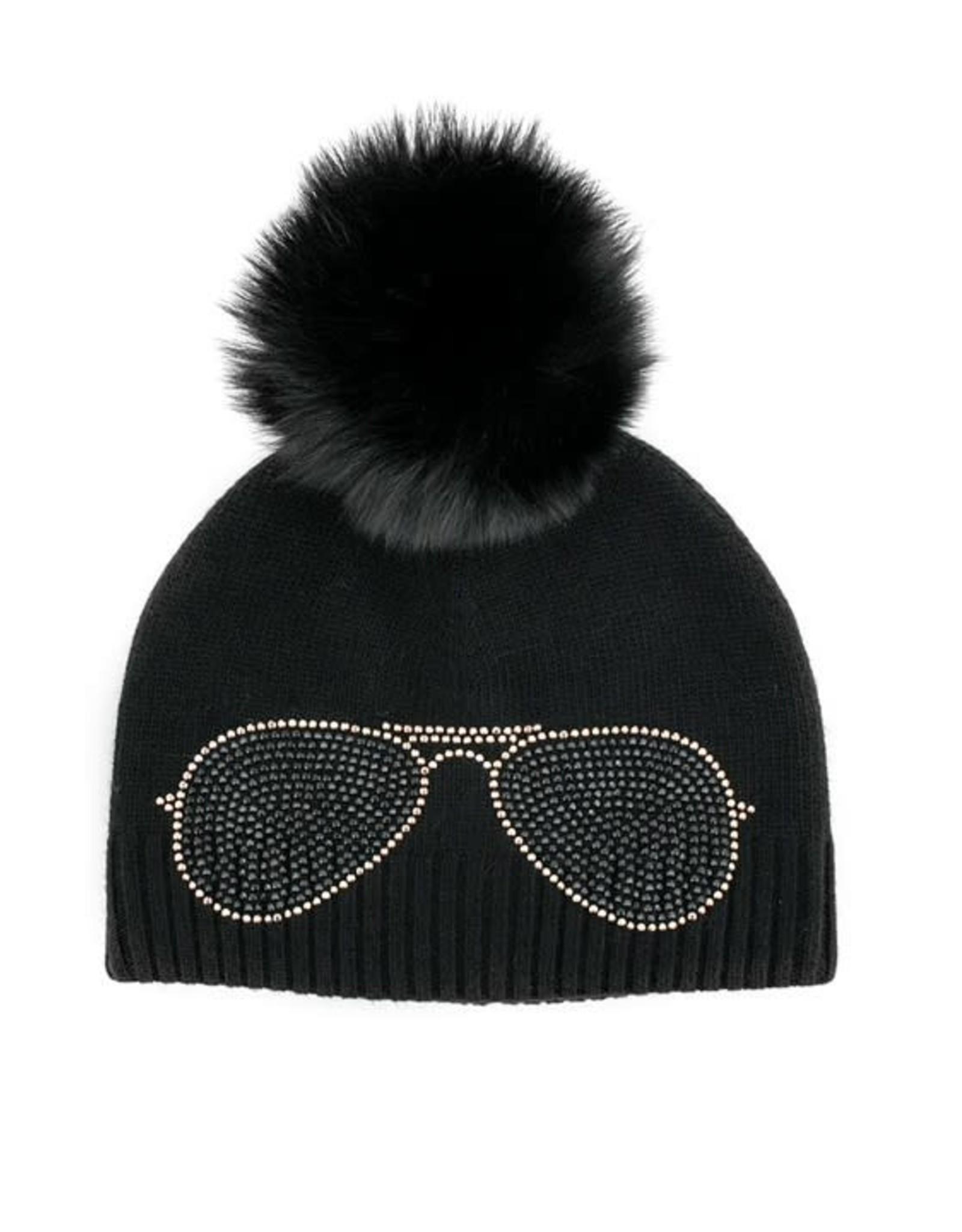 Tuque noir  - lunette