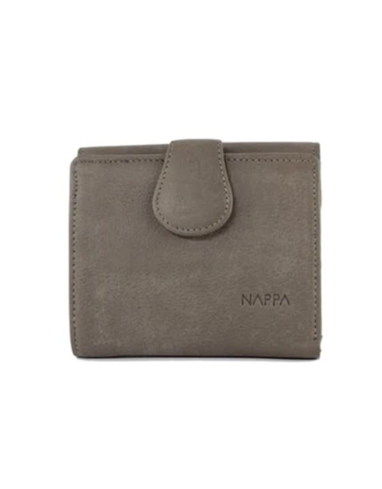 Petit portefeuille - Claire gris