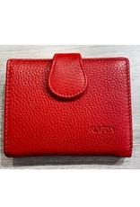 Petit portefeuille - Claire rouge