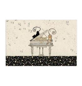 Napperon chat - piano