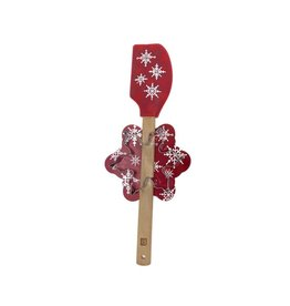 Ricardo Ens. spatule + emporte-pièces - Flocons